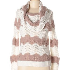 Nordstrom Sun Shadow cowl neck sweater